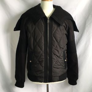 ZARA Black Tag Unique Puffer Jacket